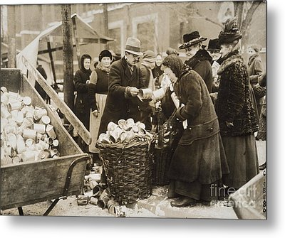 Germany: Inflation, 1923 Metal Print by Granger