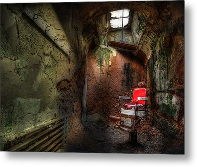 Give Me The Usual Metal Print by Lori Deiter