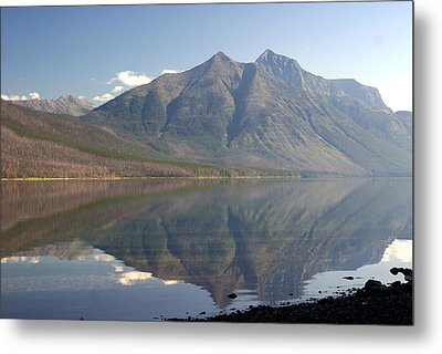 Glacier Reflection1 Metal Print by Marty Koch