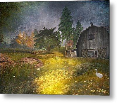 Glanduin Farm - By Kylie Sabra Metal Print by Kylie Sabra