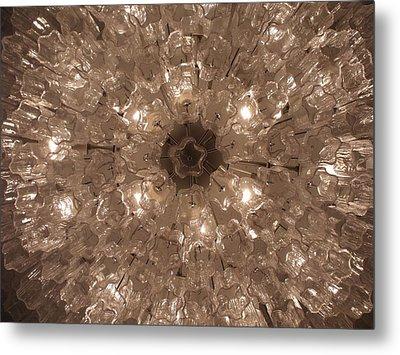 Glass Flower Metal Print by Anna Villarreal Garbis