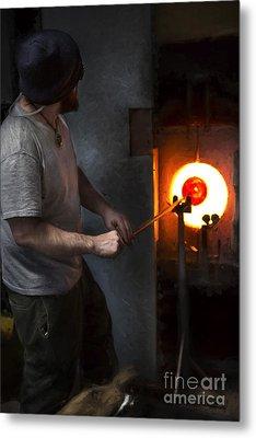 Glass Maker 2 Metal Print by Elena Nosyreva