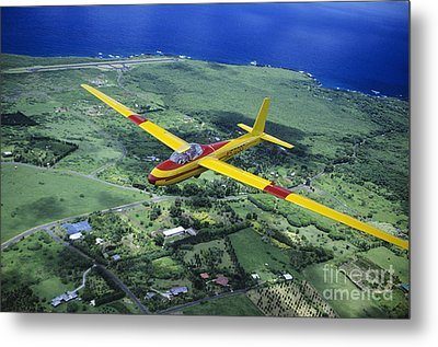 Gliding Over Hana Metal Print by Ray Mains - Printscapes