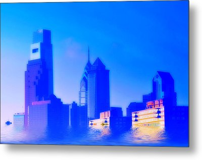 Global Warming Metal Print by Bill Cannon