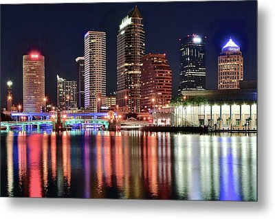 Glorious Tampa Bay Florida Metal Print by Frozen in Time Fine Art Photography