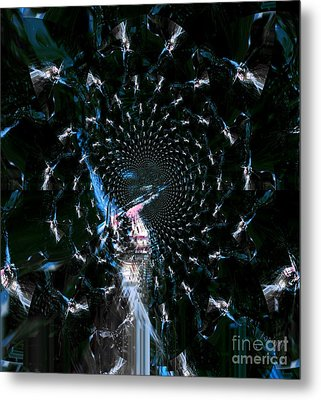 Glory Metal Print by Fania Simon