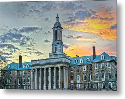 Glory Of Old State Metal Print by Michael Misciagno