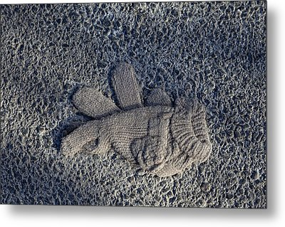 Glove Metal Print by Robert Ullmann