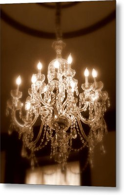 Glow From The Past Metal Print by Karen Wiles