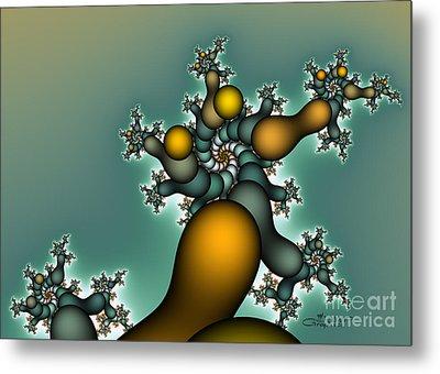 Gnarly Tree Metal Print by Jutta Maria Pusl