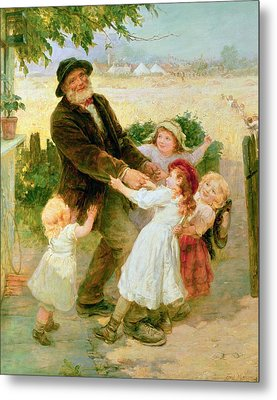 Going To The Fair Metal Print by Frederick Morgan