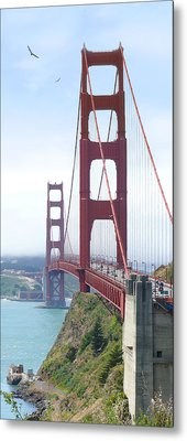 Golden Gate Bridge Metal Print by Mike McGlothlen