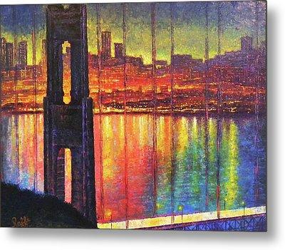 Golden Gate Bridge Metal Print by Raffi Jacobian