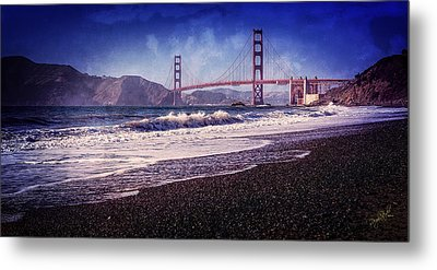 Golden Gate Metal Print by Everet Regal