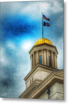 Golden Shine Metal Print by Jame Hayes