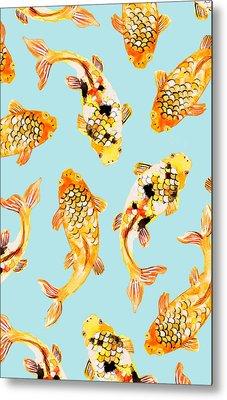 Goldfish Metal Print by Uma Gokhale
