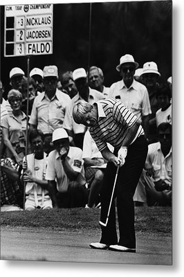 Golf Pro Jack Nicklaus, August, 1984 Metal Print by Everett