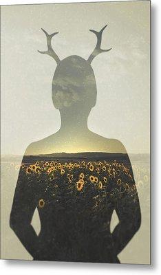Goodbye Summer Metal Print by Joanna Jankowska