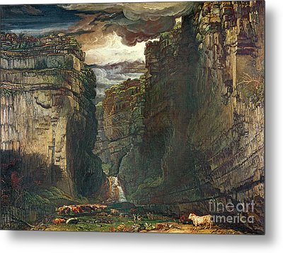 Gordale Scar Metal Print by James Ward