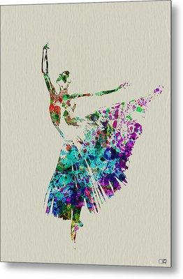 Gorgeous Ballerina Metal Print by Naxart Studio