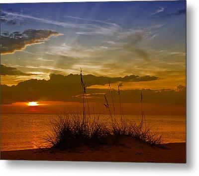 Gorgeous Sunset Metal Print by Melanie Viola
