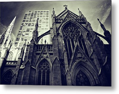 Gothic Perspectives Metal Print by Jessica Jenney