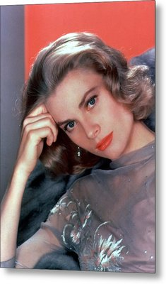 Grace Kelly Metal Print by American School