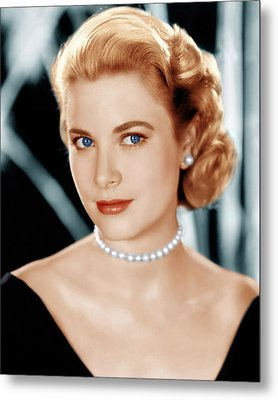 Grace Kelly, Ca. 1953 Metal Print by Everett