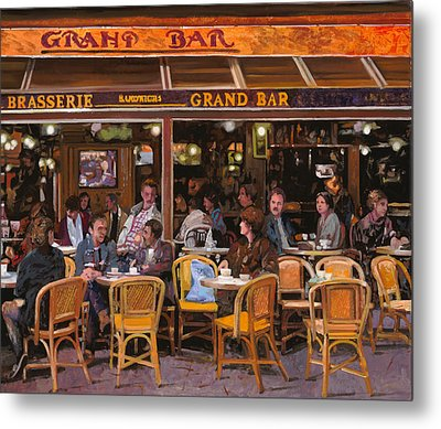 Grand Bar Metal Print by Guido Borelli