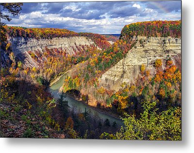 Grand Canyon Of The East Metal Print by Mark Papke