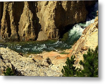Grand Canyon Of The Yellowstone 3 Metal Print by Marty Koch
