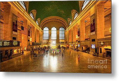 Grand Central Metal Print by Inge Johnsson
