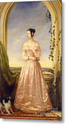 Grand Duchess Of Russia Metal Print by MotionAge Designs