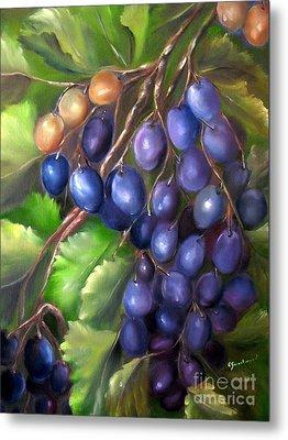 Grapevine Metal Print by Carol Sweetwood