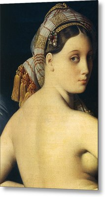 Great Odalisque Metal Print by Ingres
