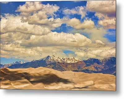 Great Sand Dunes National Monument Metal Print by James BO  Insogna