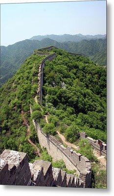 Great Wall Of China Metal Print by Natalia Wrzask