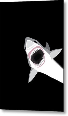 Great White Shark Metal Print by Antique Images