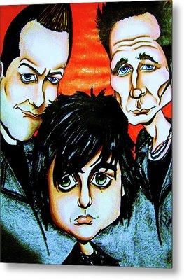 Green Day Metal Print by Penny  Elliott
