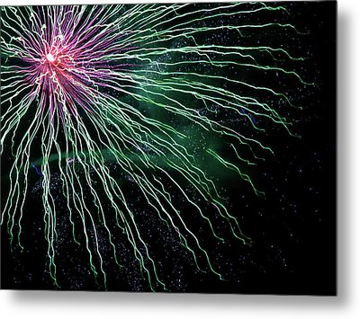 Green Independence Metal Print by Adam Long