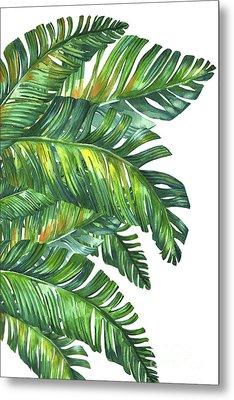 Green Tropic  Metal Print by Mark Ashkenazi