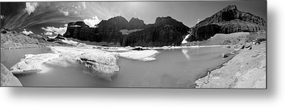 Grinnell Glacier Panorama Metal Print by Sebastian Musial