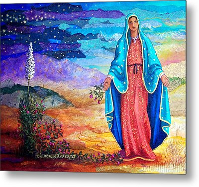 Guadalupe De La Frontera Metal Print by Candy Mayer