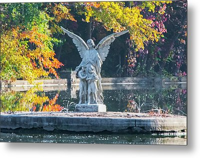 Guardian Angel - Ambler Pennsylvania Metal Print by Bill Cannon