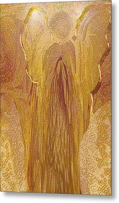Guardian Angel Metal Print by Linda Sannuti