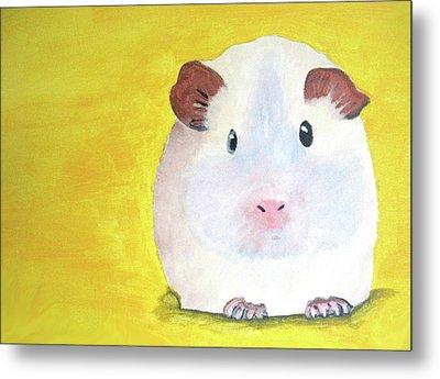 Guinee Pig Metal Print by Darren Stein