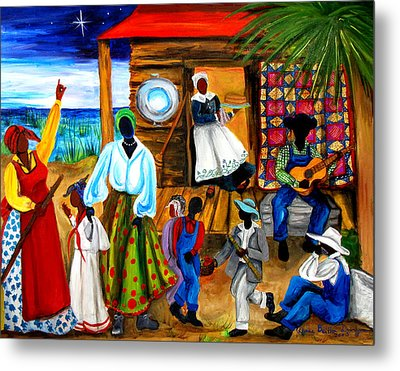 Gullah Christmas Metal Print by Diane Britton Dunham