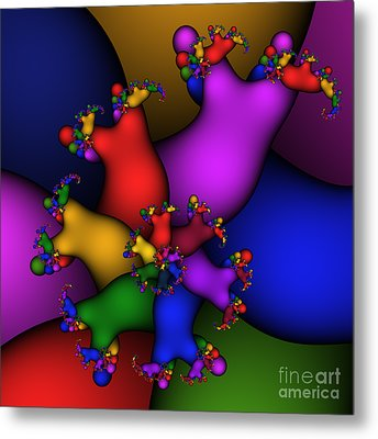 Gummy Bears 186 Metal Print by Rolf Bertram