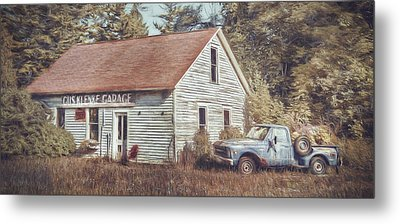 Gus Klenke Garage Metal Print by Scott Norris