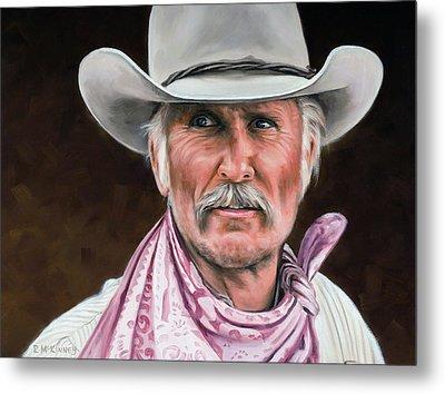Gus Mccrae Texas Ranger Metal Print by Rick McKinney